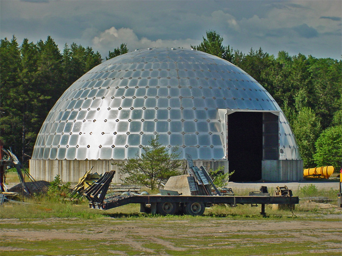 Dome-salt-shed-in-Massey,-O